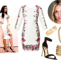 Ask a Stylist: How to Update Your Floral Frock Like Nicki Minaj!