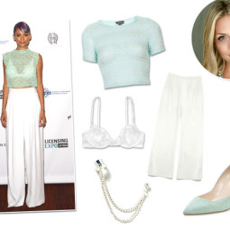 Ask A Stylist: How To Wear a Lace Crop Top Like Nicole Richie