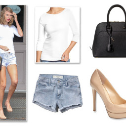 How to Rock Casual Separates Like Taylor Swift