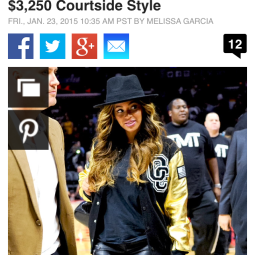 Her Outfit Cost What?! Beyoncé