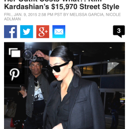 Her Outfit Costs What?! Kim Kardashian's $15,970 Street Style